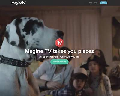 magine tv website
