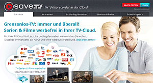 save.tv website