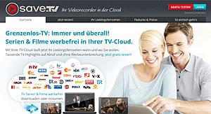 save.tv website